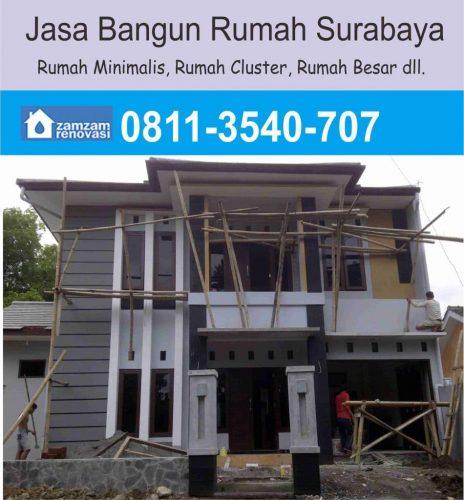 Kontraktor dan Pemborong Borongan Bangun Rumah Surabaya