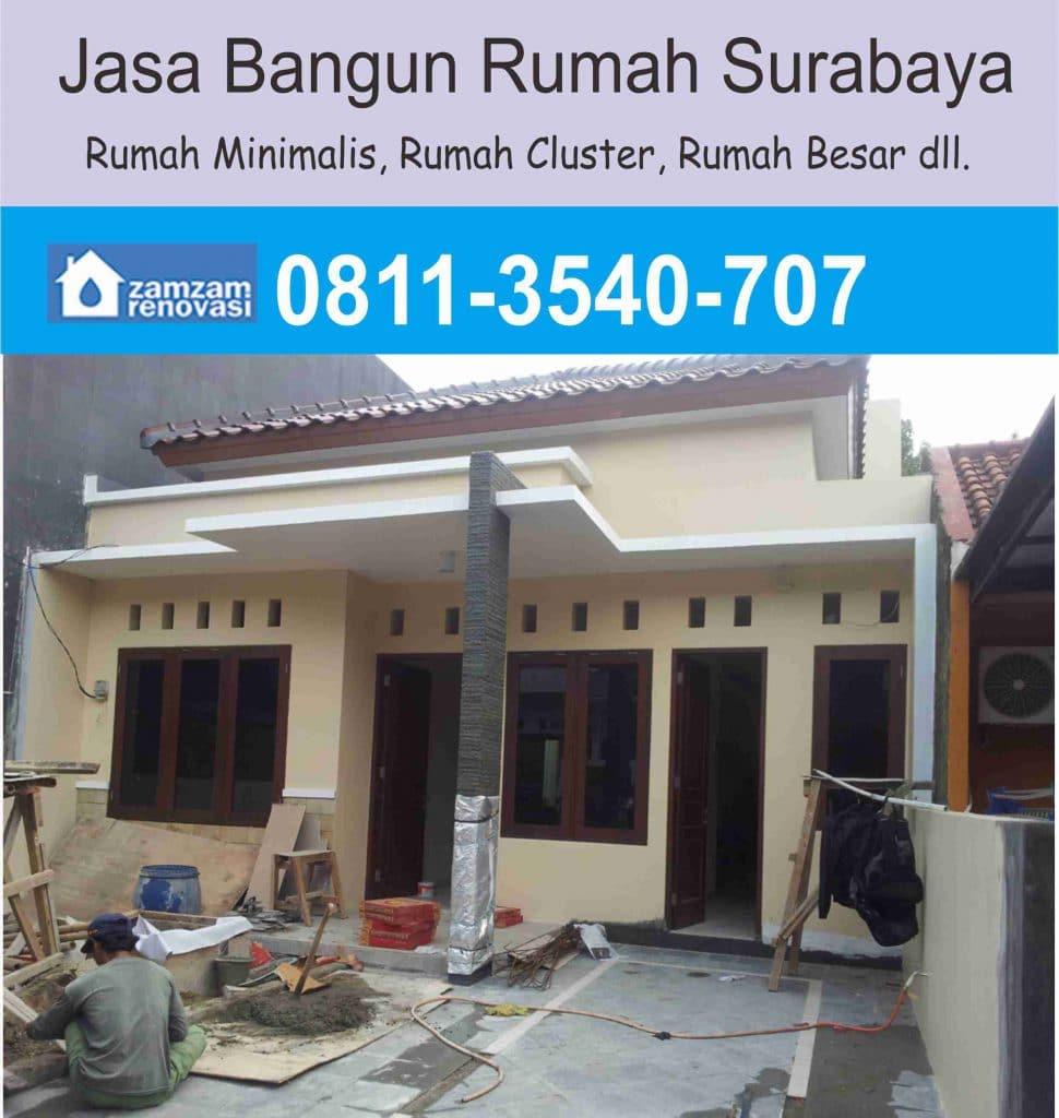 Kontraktor dan Pemborong Borongan Rumah Surabaya