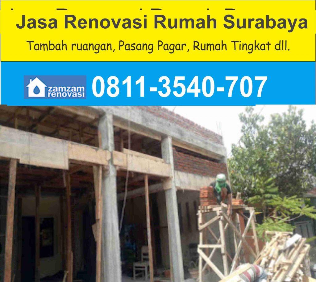 Jasa Kontraktor dan Pemborong Renovasi Rumah Surabaya gratis survey
