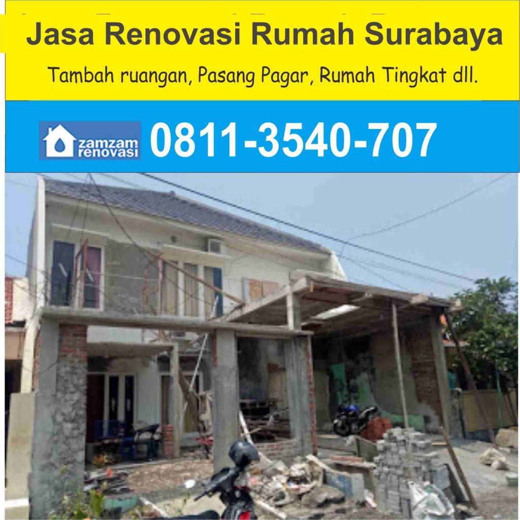 Jasa Kontraktor dan Pemborong Renovasi Rumah Surabaya
