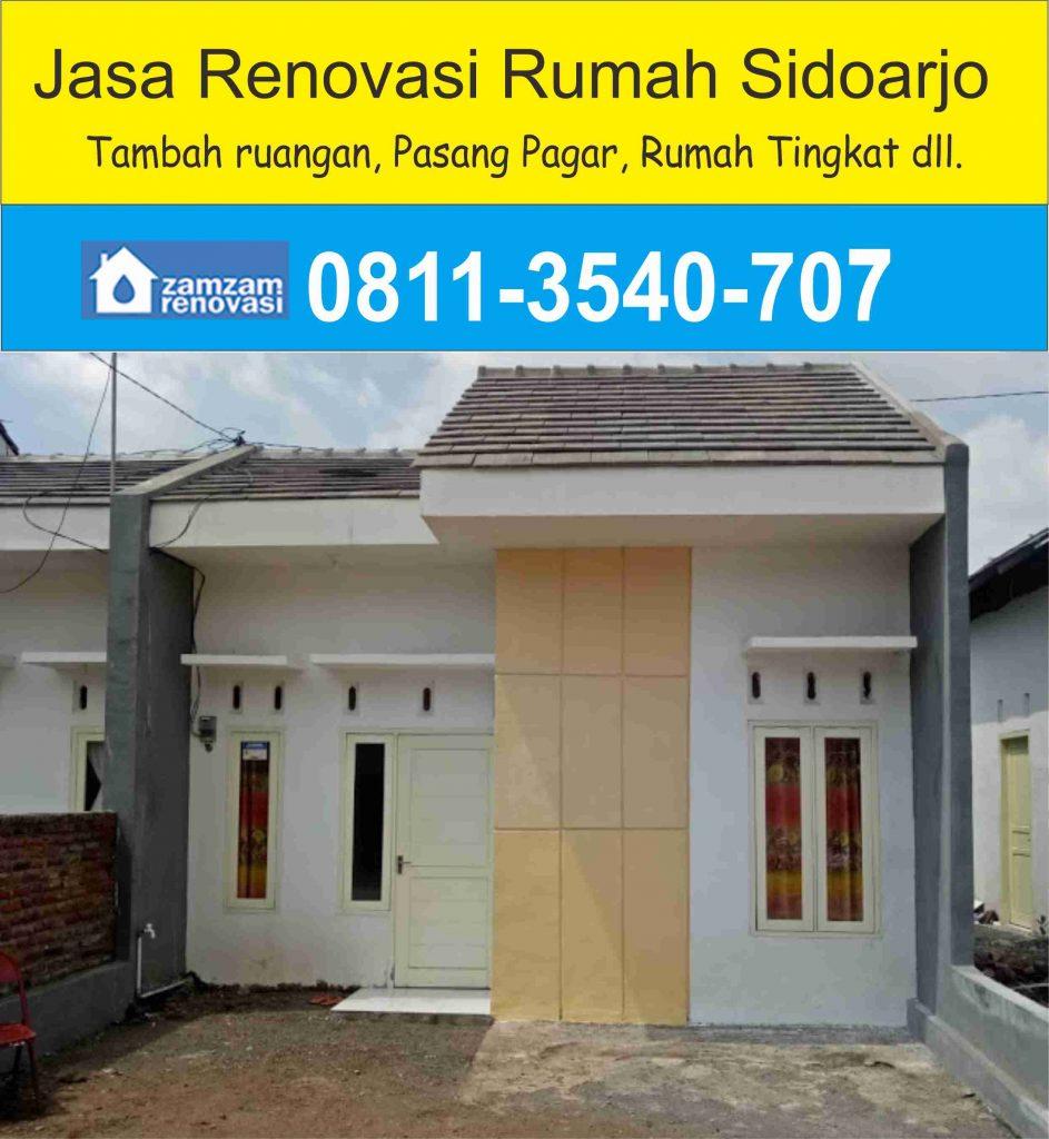 Jasa Kontraktor dan Pemborong Renovasi Rumah Sidoarjo
