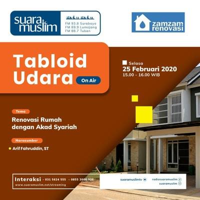 Dialog Interaktif Bersama Zamzam Renovasi Kontraktor Rumah Surabaya