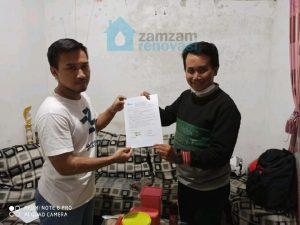 Surat perjanjian renovasi rumah